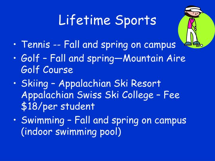 Lifetime Sports