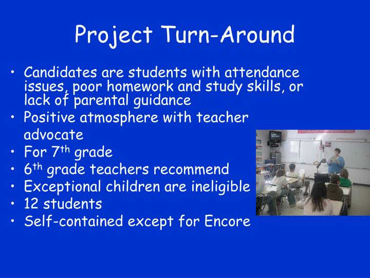 Project Turn-Around