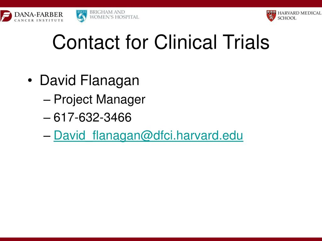 Contact for Clinical Trials