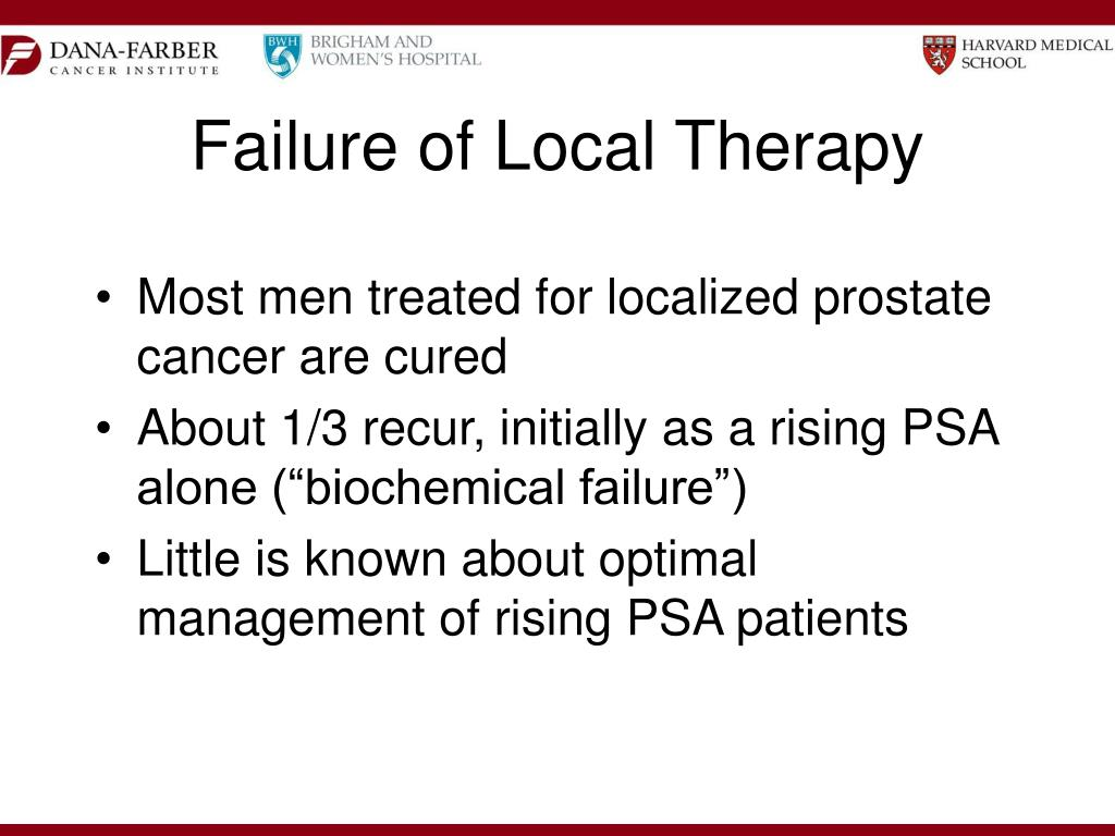 Failure of Local Therapy