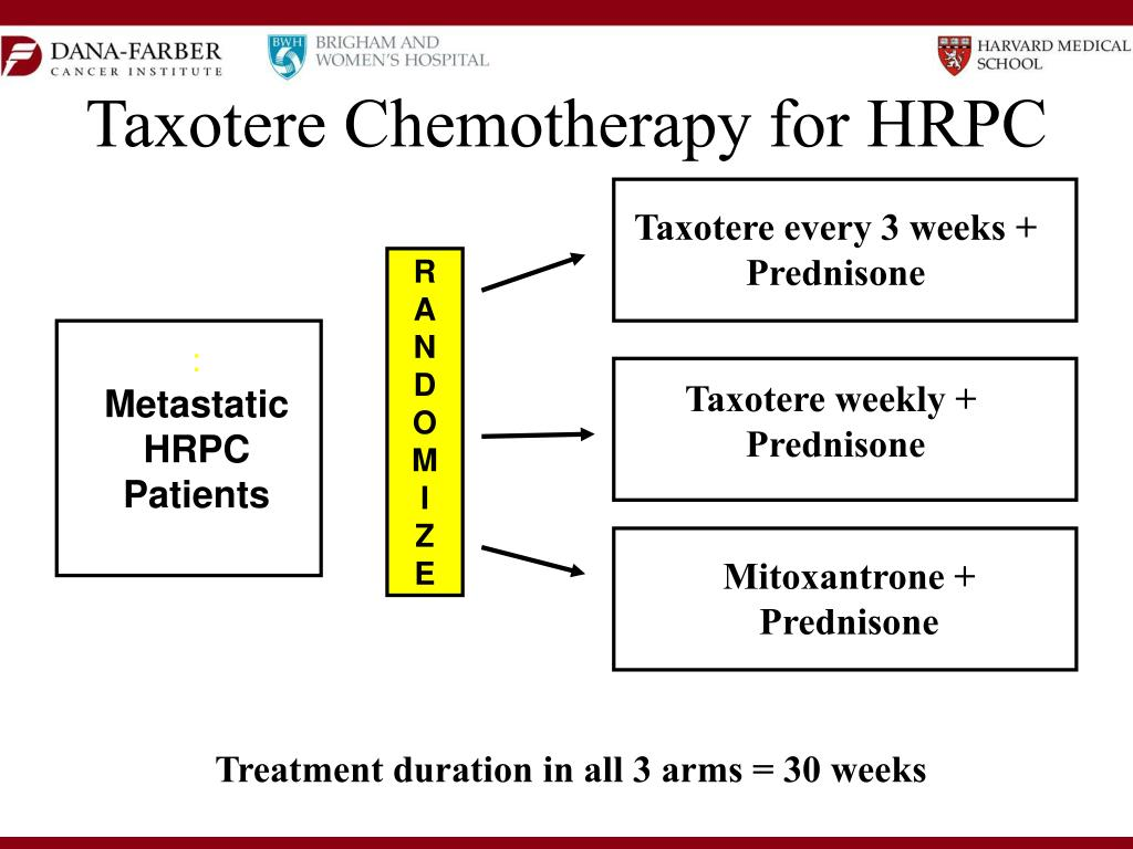 Taxotere Chemotherapy for HRPC