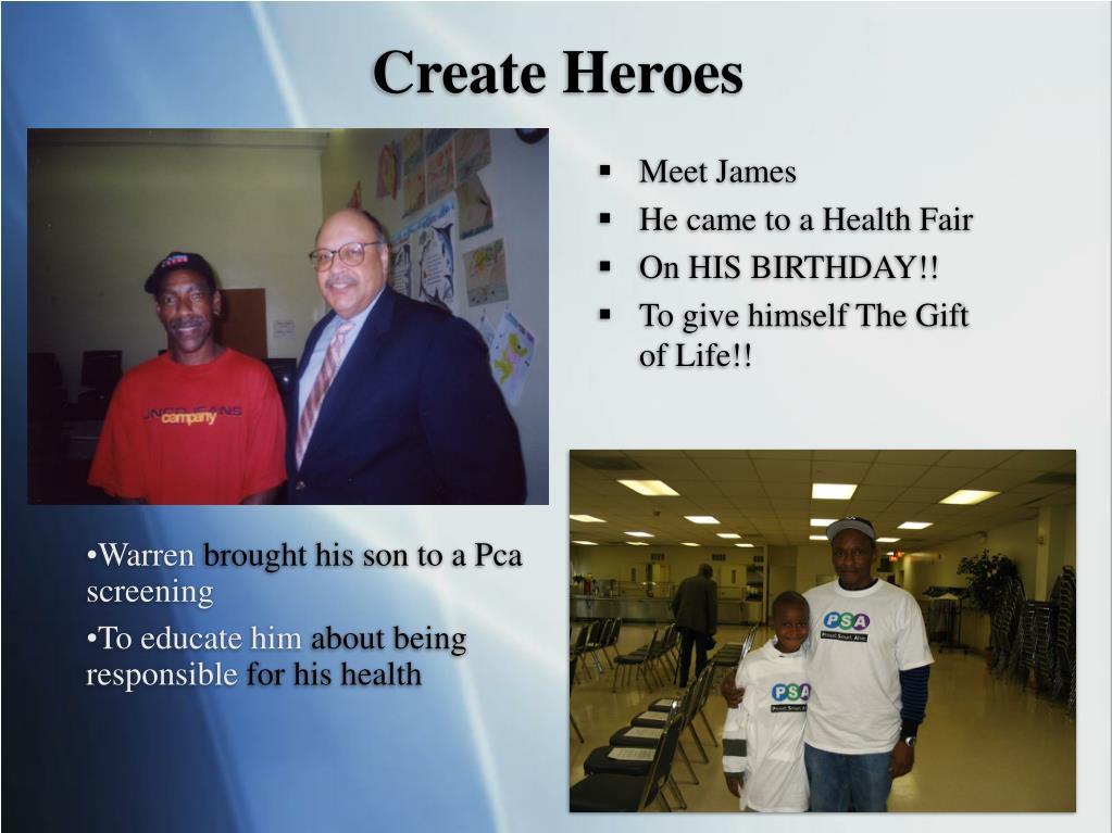 Create Heroes