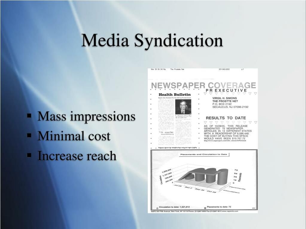 Media Syndication