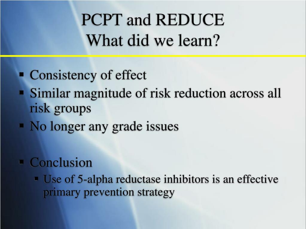 PCPT and REDUCE