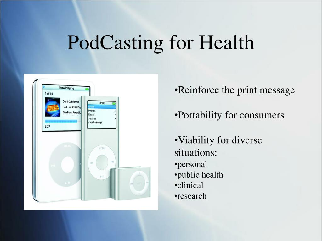 PodCasting for Health