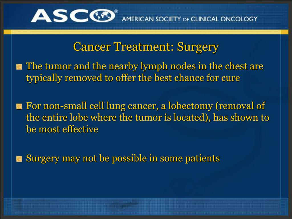 Cancer Treatment: Surgery