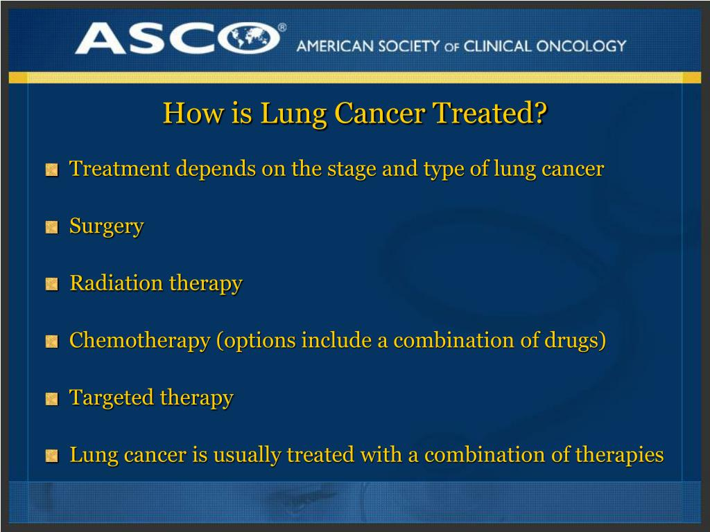 How is Lung Cancer Treated?