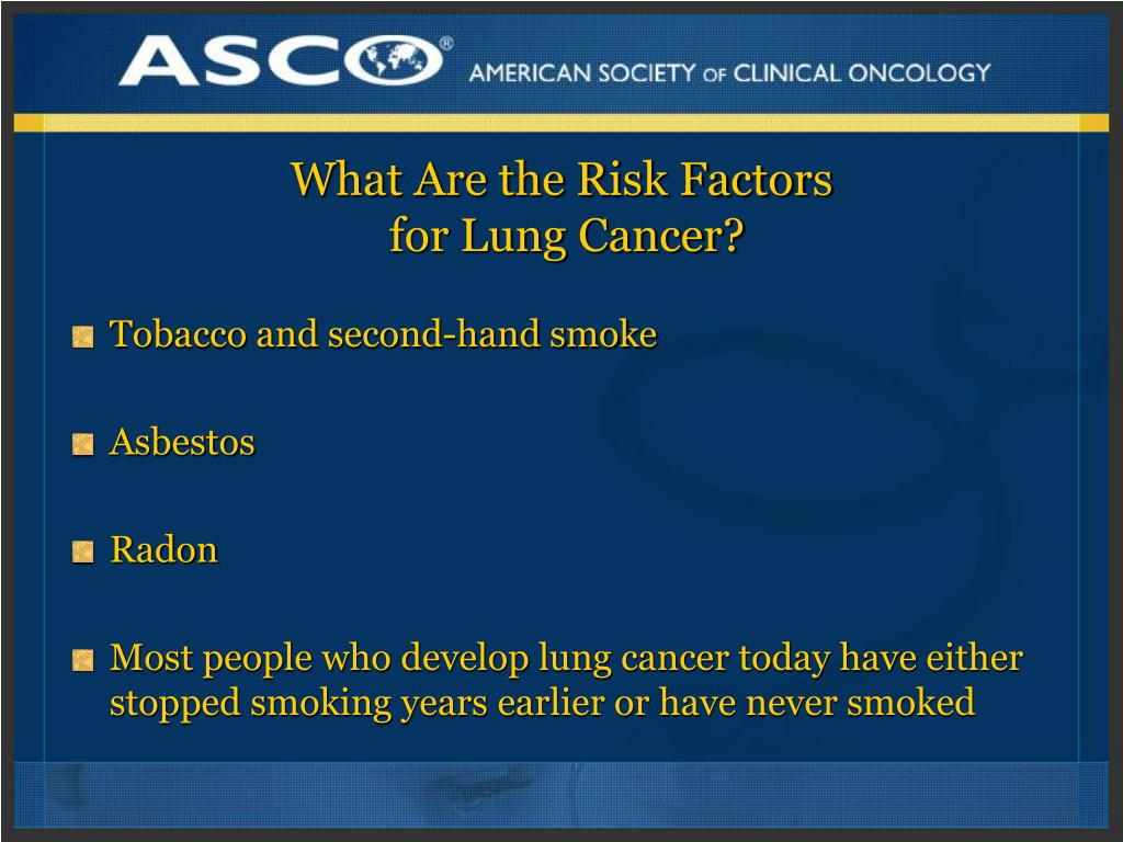 What Are the Risk Factors