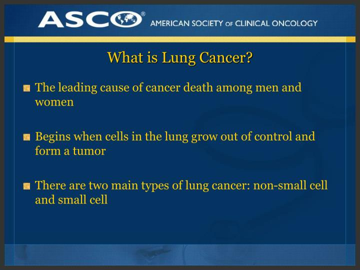 What is lung cancer l.jpg