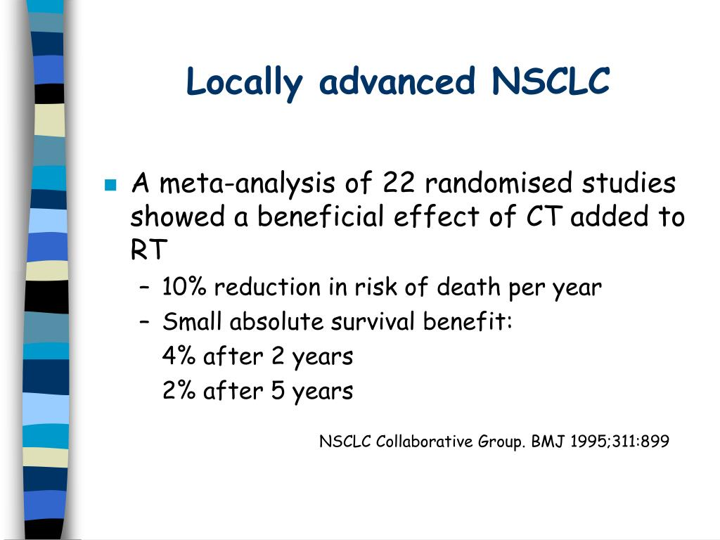 Locally advanced NSCLC
