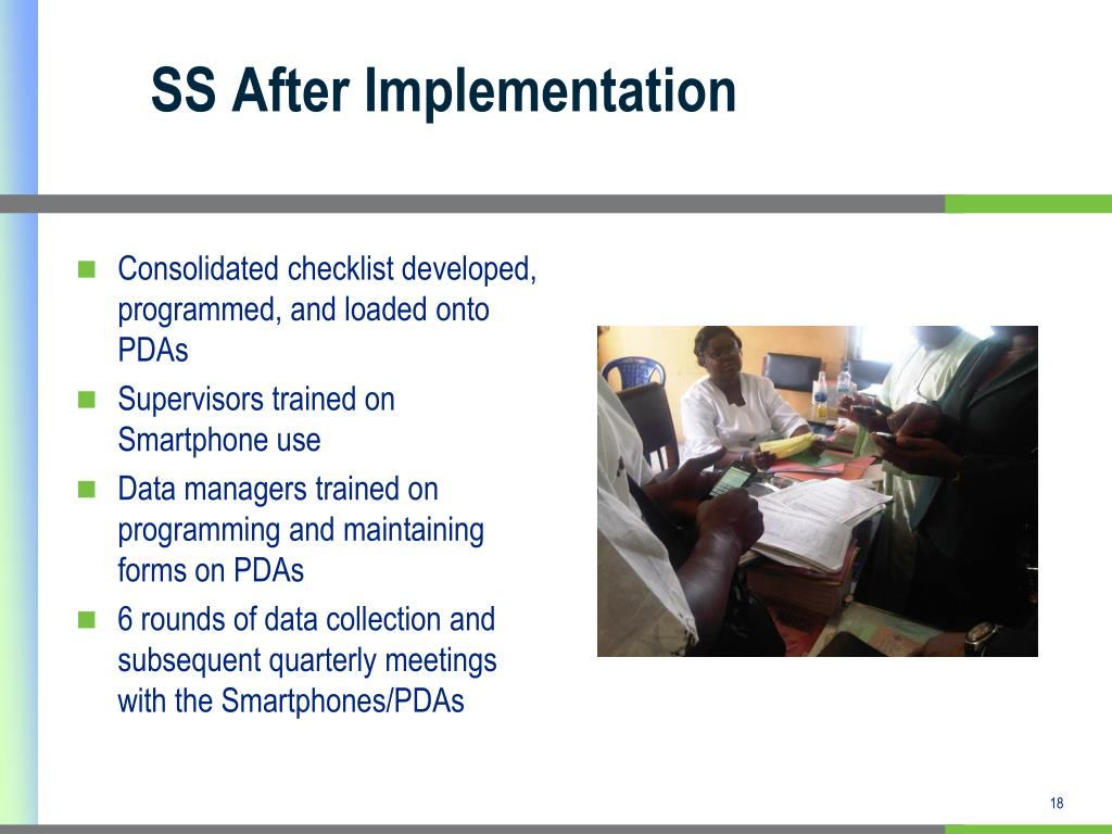 SS After Implementation