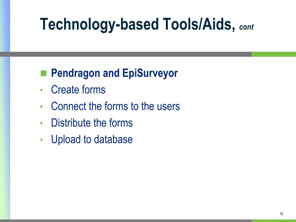 Technology-based Tools/Aids,