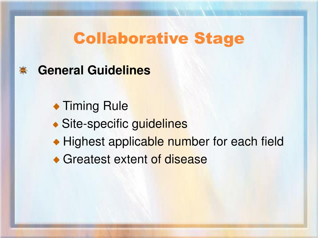 Collaborative Stage