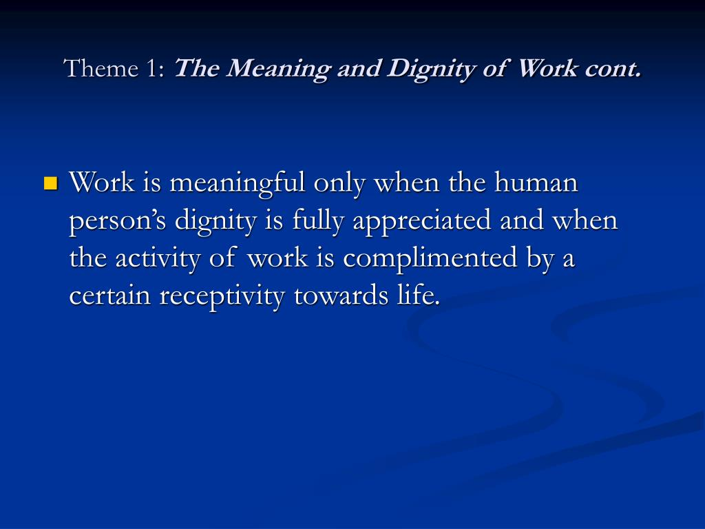 essay the theme of human dignity in Pico della mirandola's oration on the dignity of man was a sort of manifesto of christian renaissance humanismrrteacher accurately pointed out the the primary theme of this manifesto is.