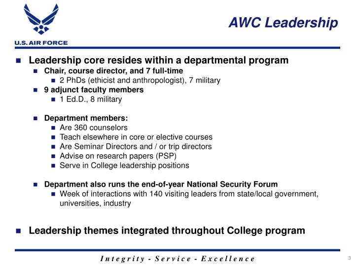 AWC Leadership