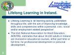lifelong learning in ireland