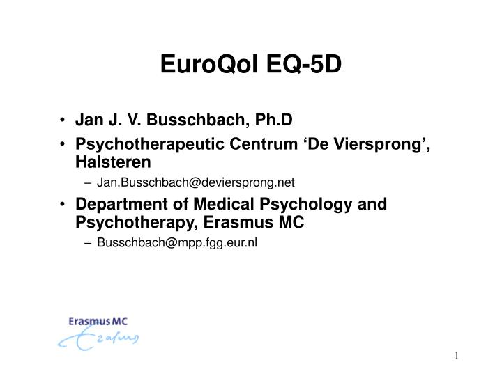EQ-5D-5L User Guide - EuroQol