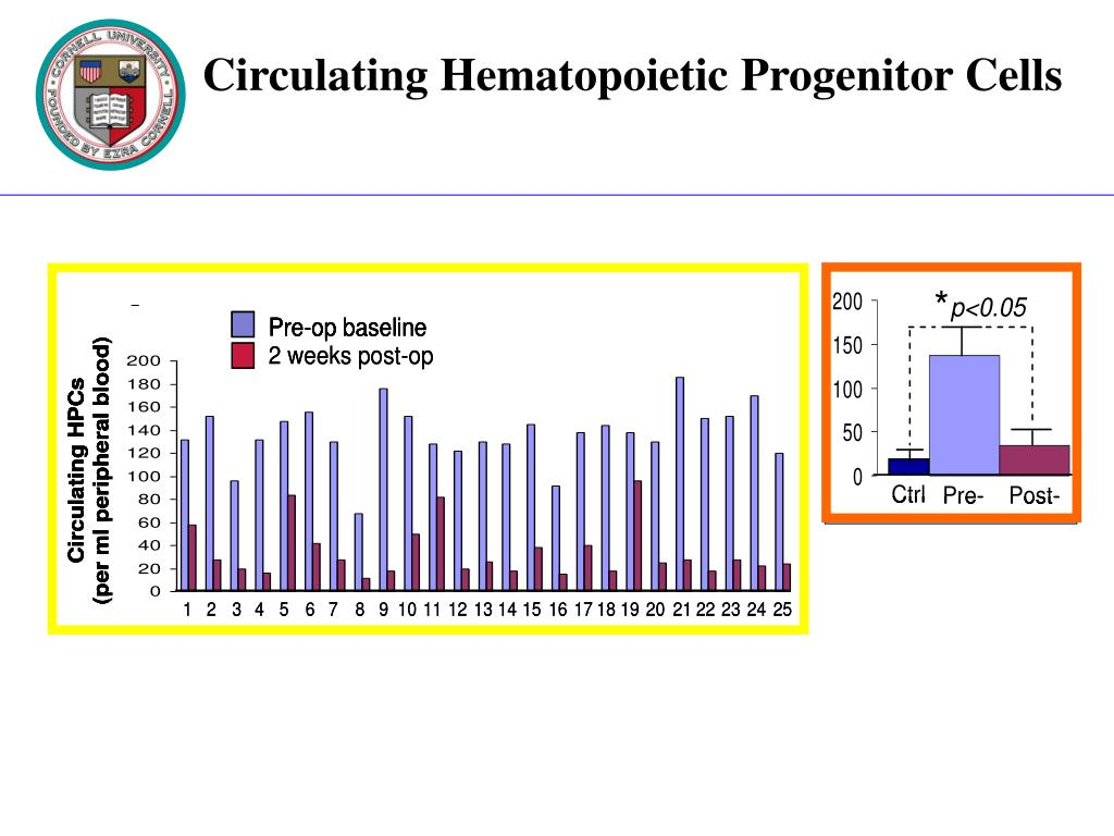 Circulating Hematopoietic Progenitor Cells
