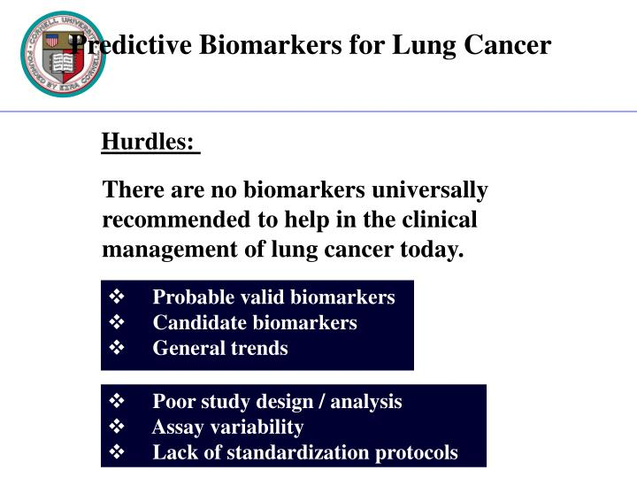 Probable valid biomarkers