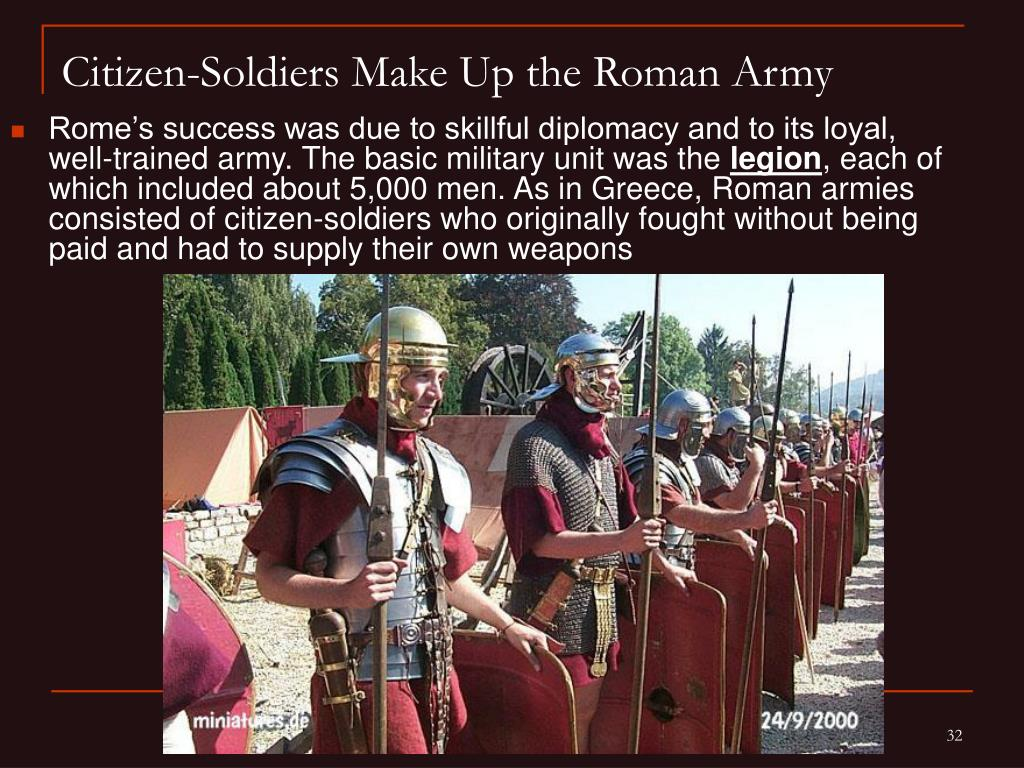 the success of the roman military Title length color rating : success of the roman army - the empire that the roman's built can be argued to have been the greatest in world history.
