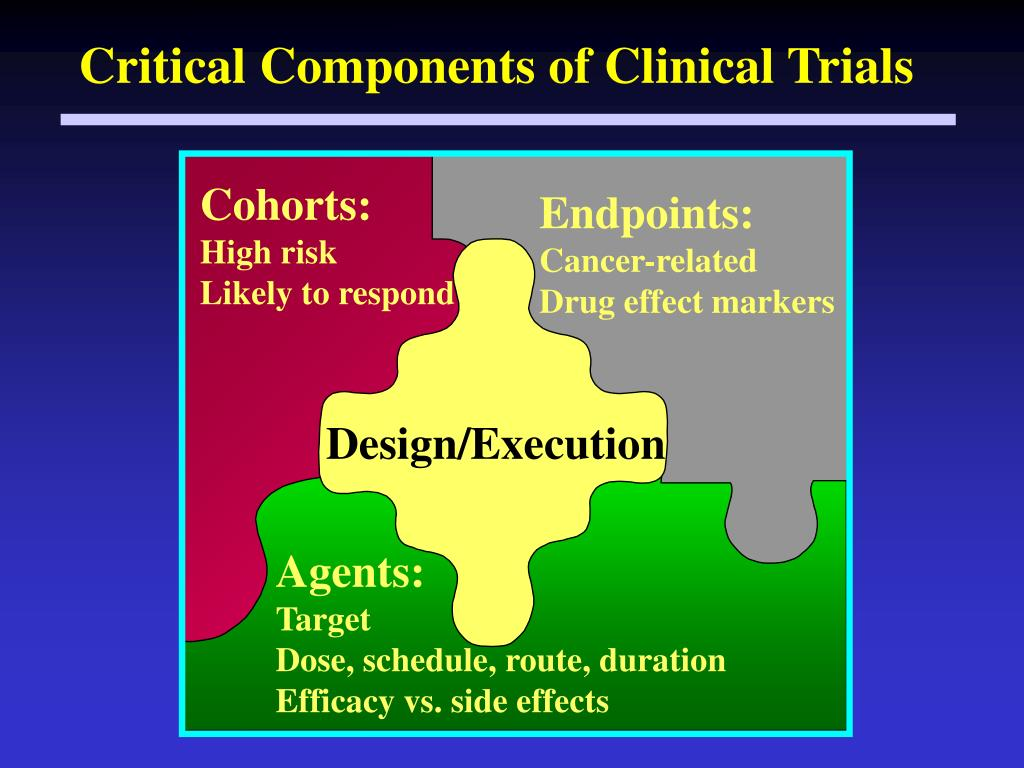 Critical Components of Clinical Trials