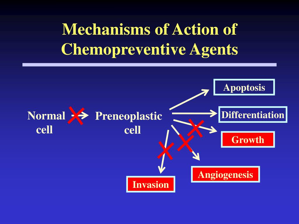 Mechanisms of Action of Chemopreventive Agents