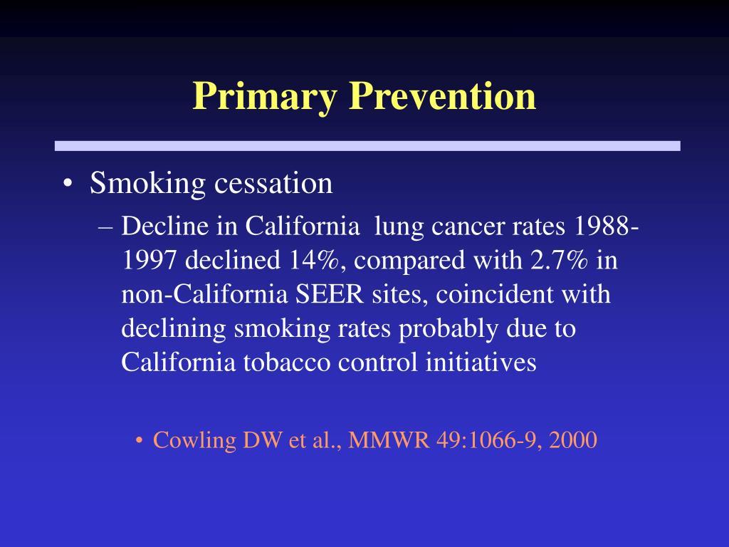 Primary Prevention