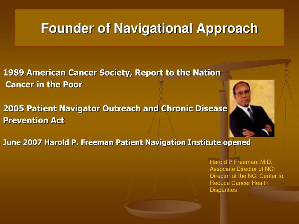 Founder of Navigational Approach