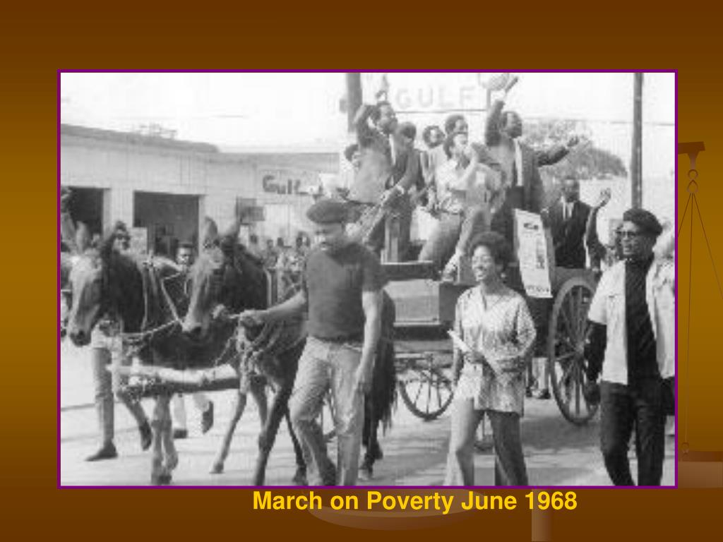 March on Poverty June 1968