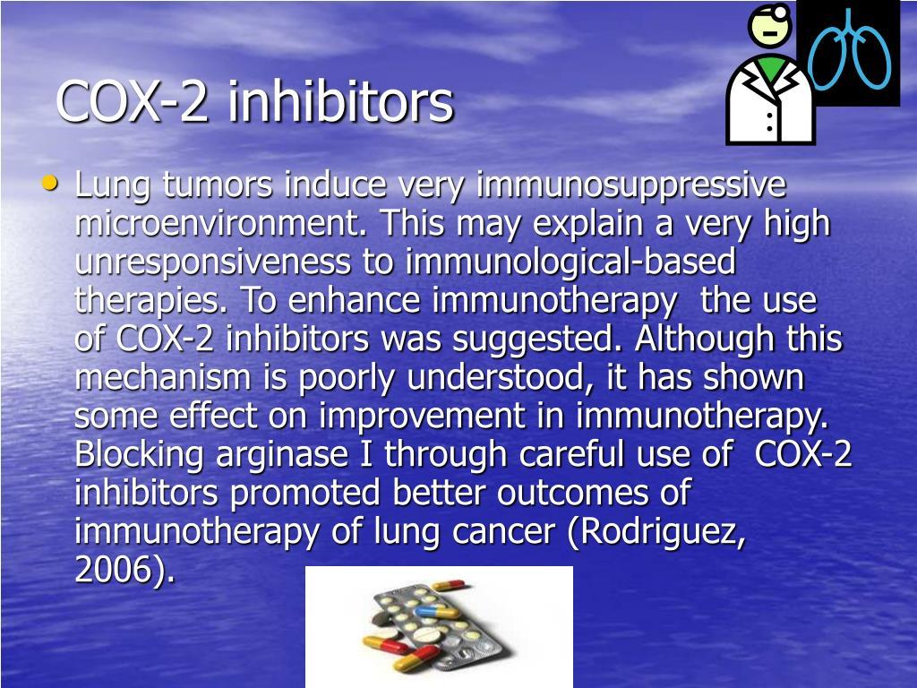 COX-2 inhibitors