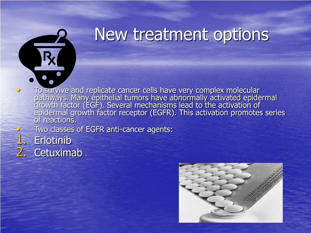 New treatment options