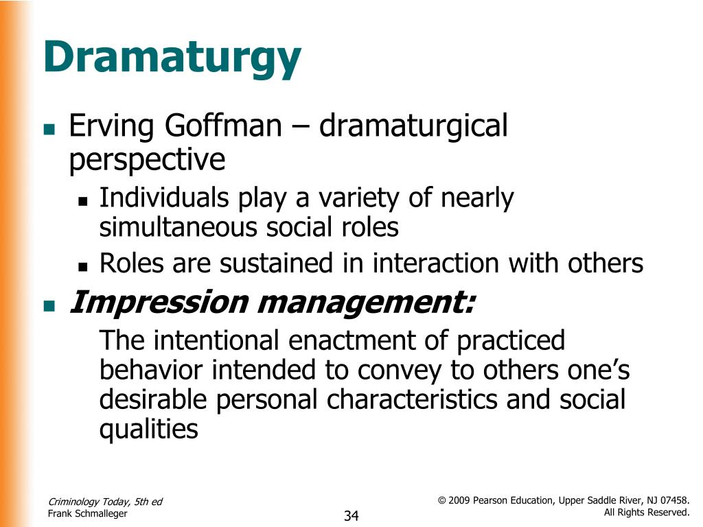 an overview of the total institutions and the role of erving goffman Overview erving goffman total institution role goffman, erving (1922–82) erving goffman and the gestural dynamics of modern selfhood.