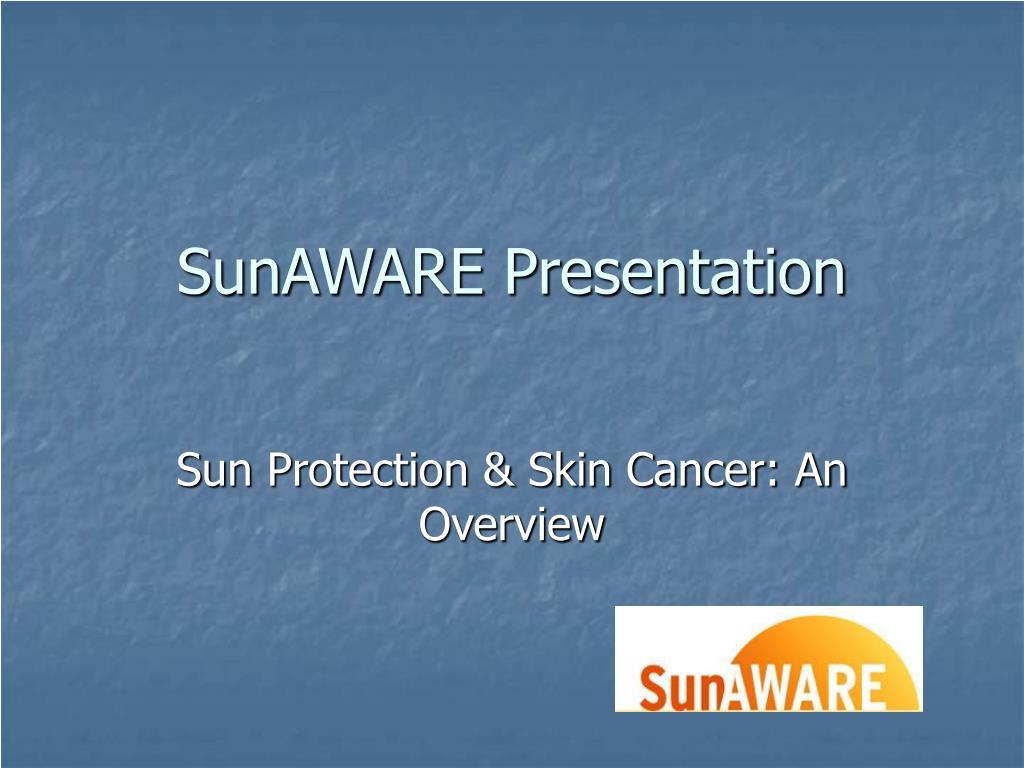 SunAWARE Presentation