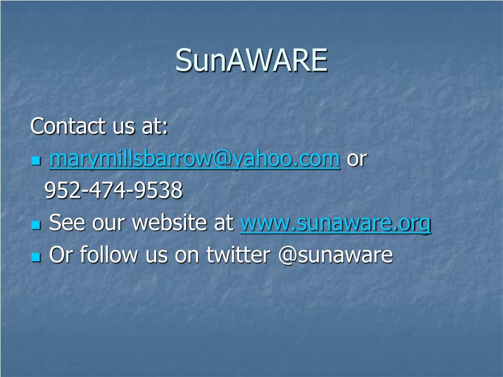 SunAWARE