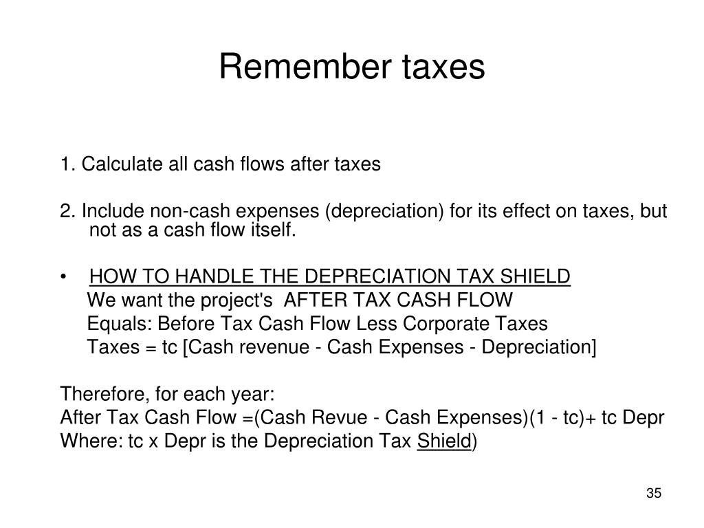 Remember taxes