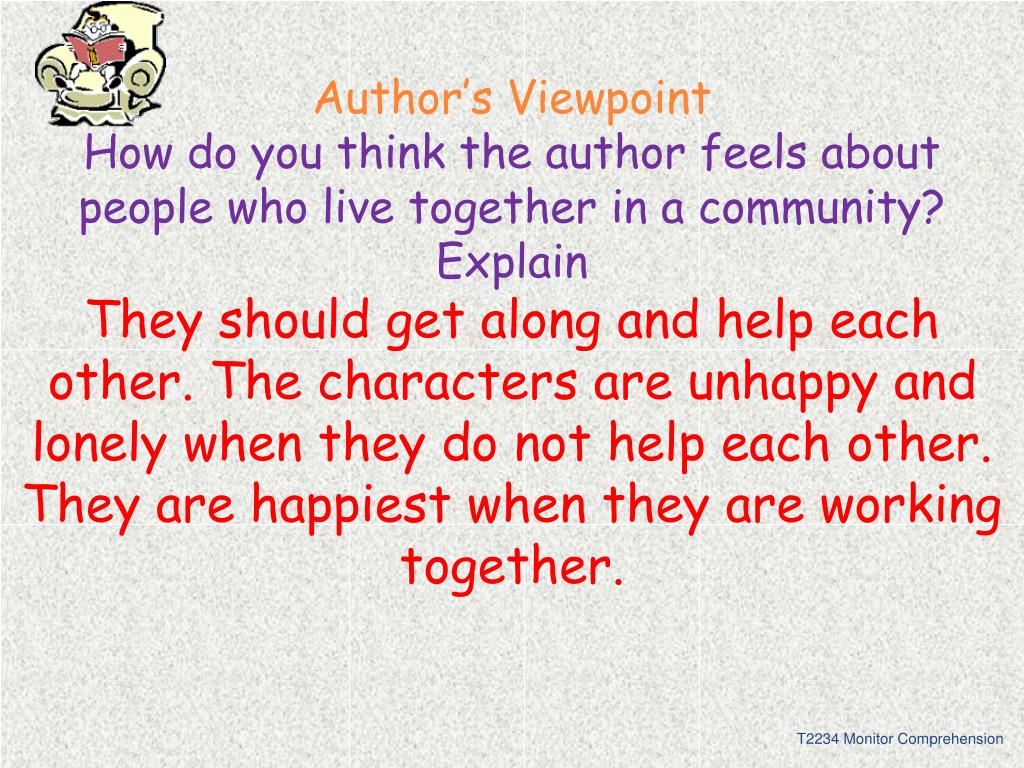 Author's Viewpoint