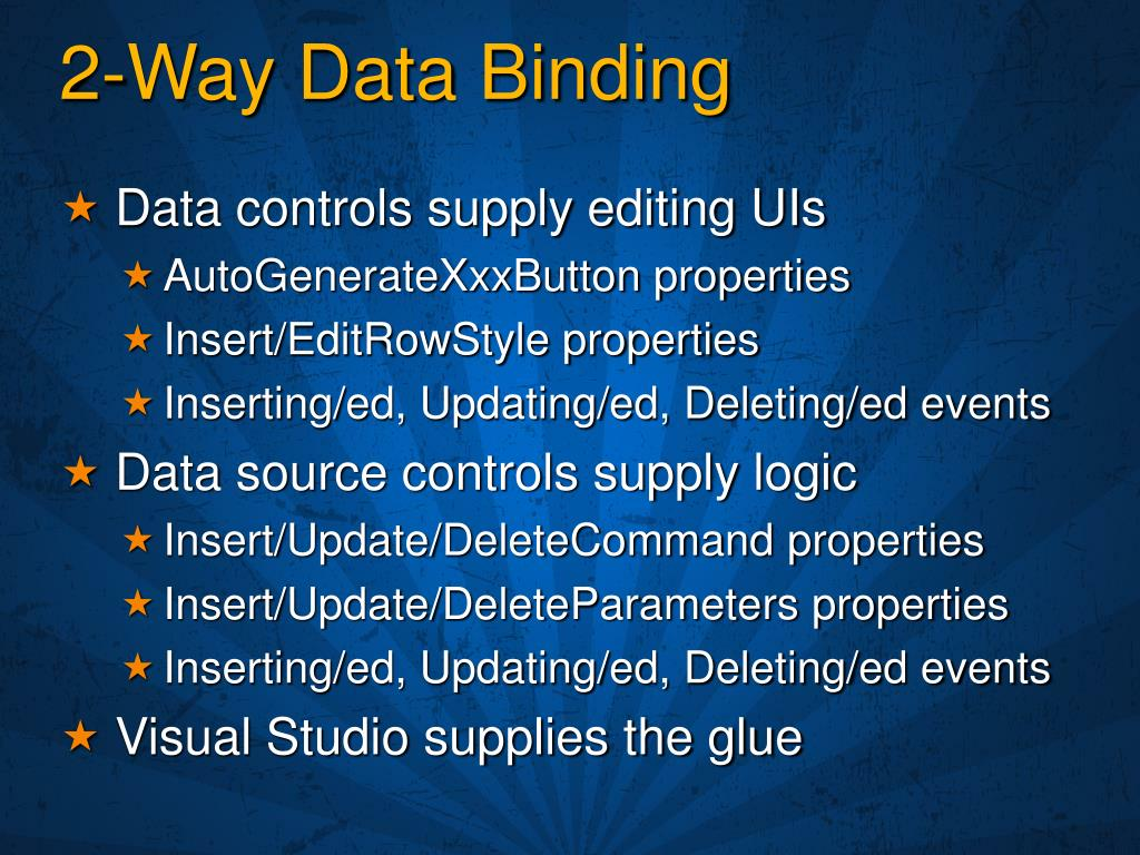 2-Way Data Binding