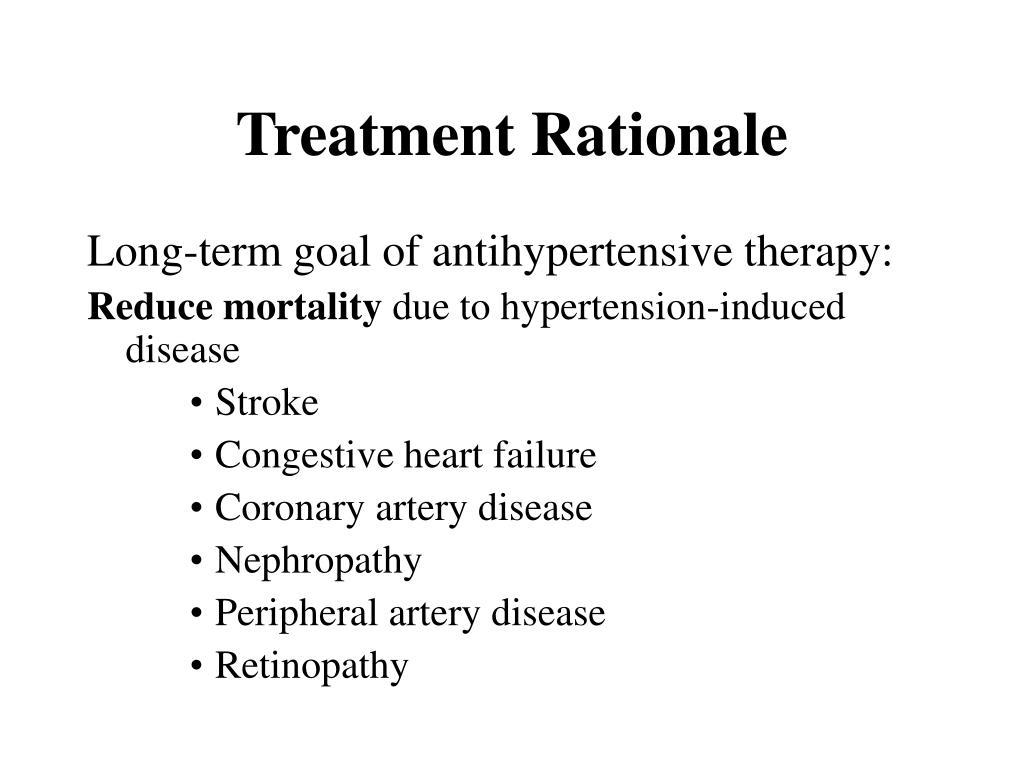 Treatment Rationale