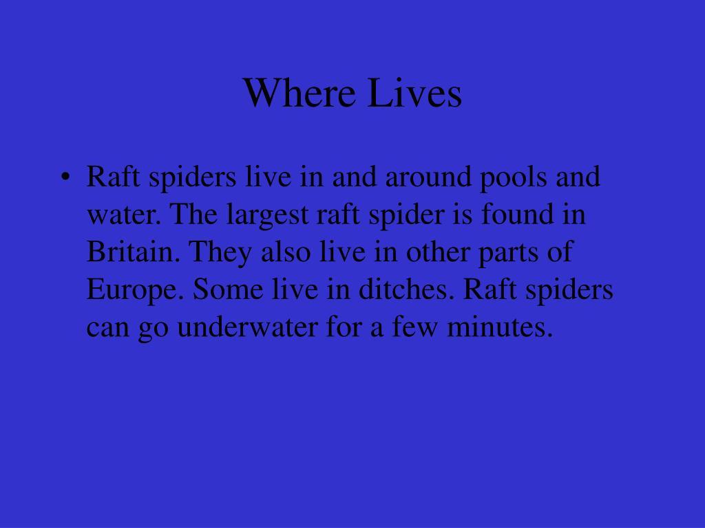 Where Lives
