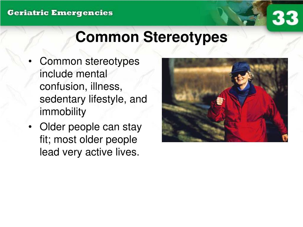 Common Stereotypes