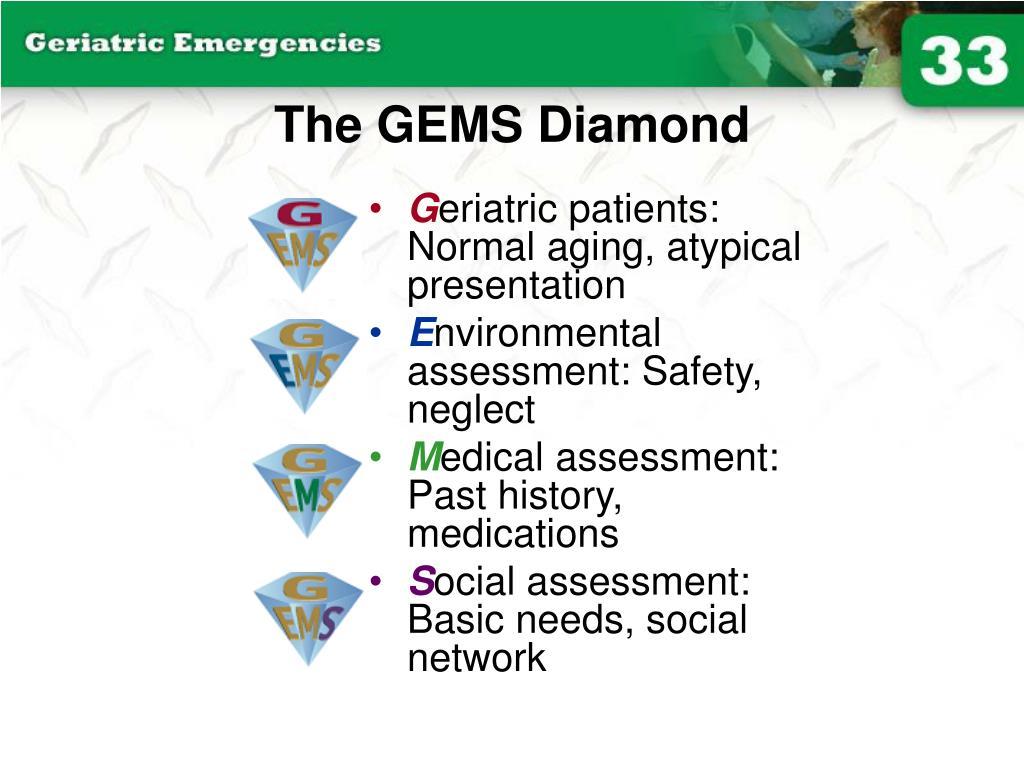 The GEMS Diamond