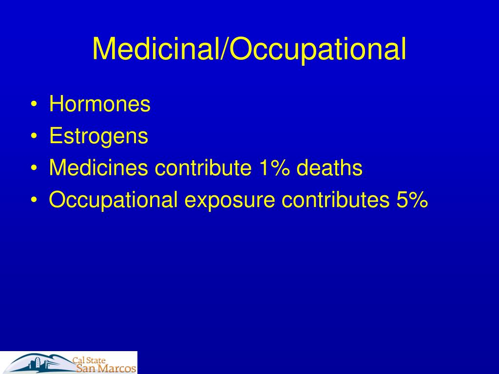 Medicinal/Occupational