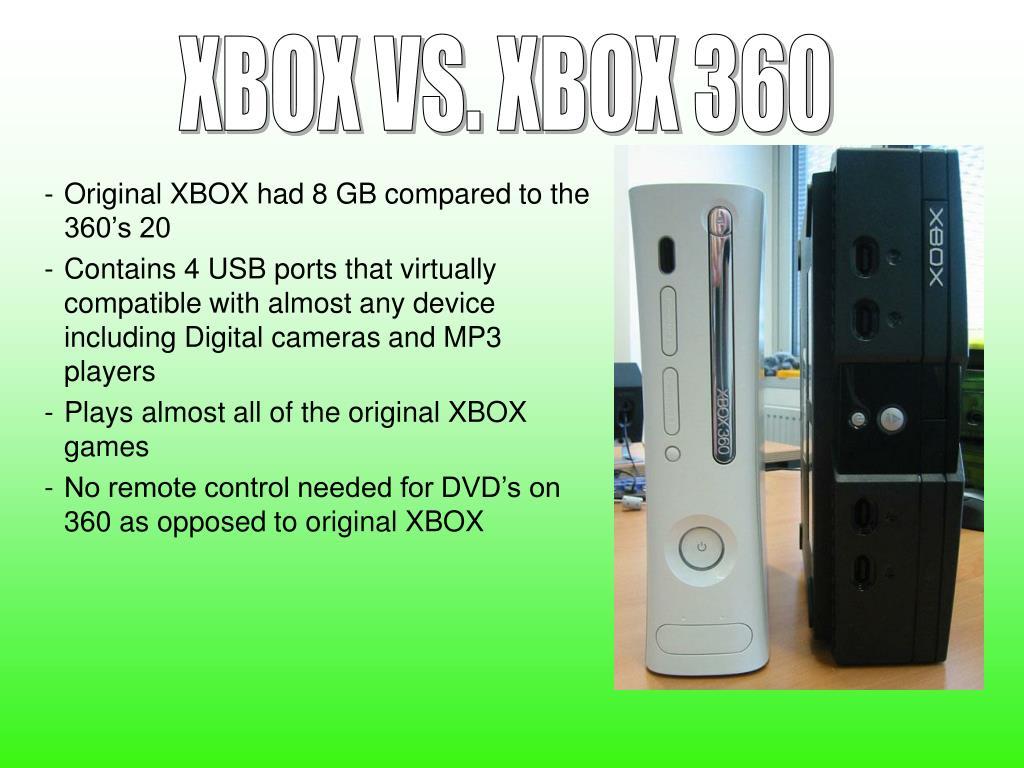 XBOX VS. XBOX 360