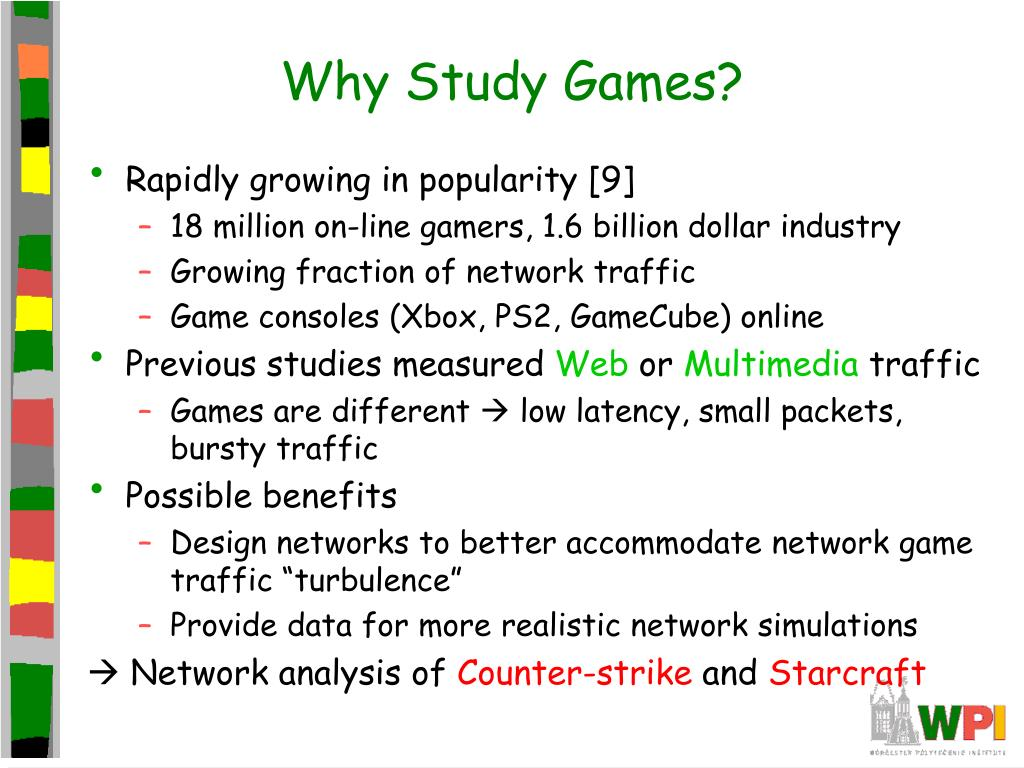 Why Study Games?