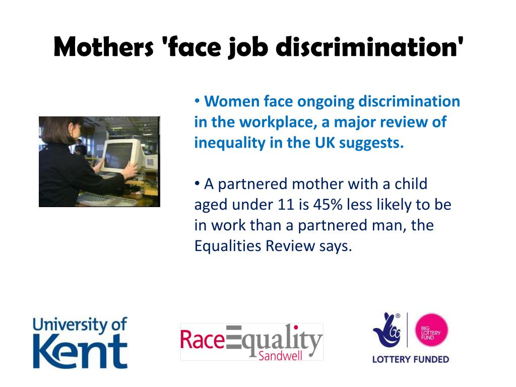 Mothers 'face job discrimination'