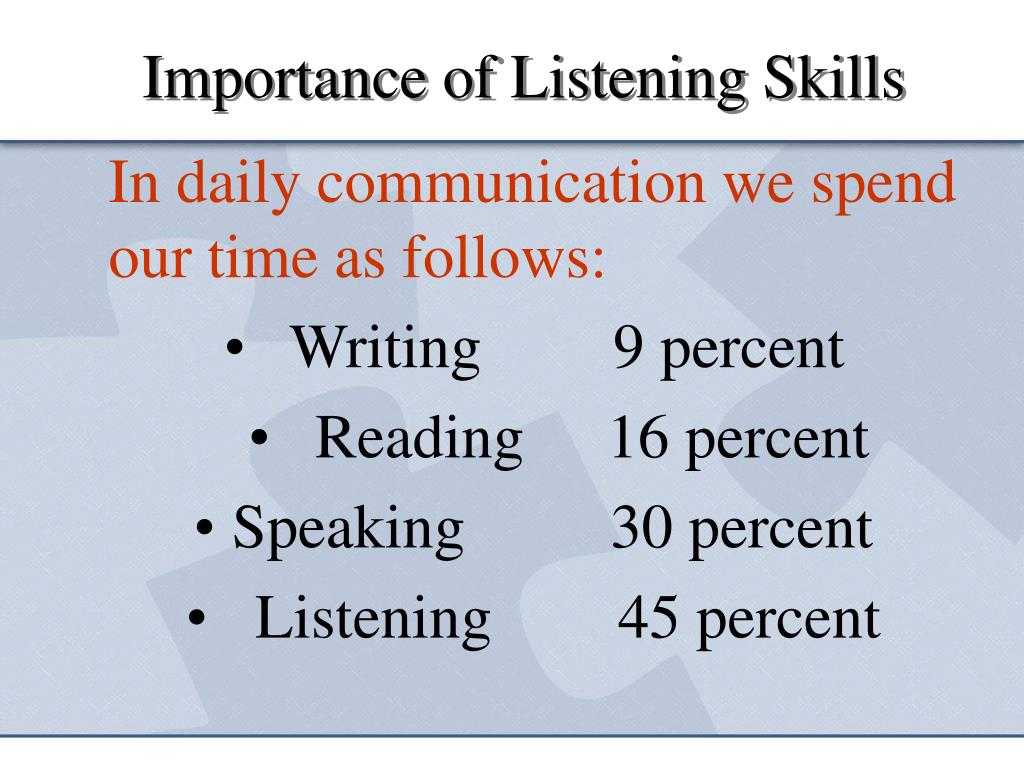 the importance of listening in communication