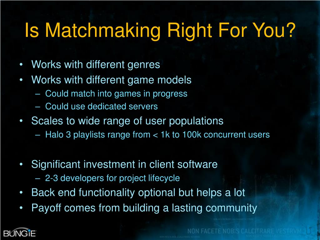 Is Matchmaking Right For You?