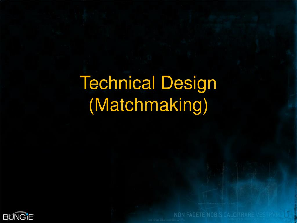 Technical Design (Matchmaking)