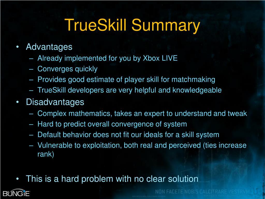 TrueSkill Summary