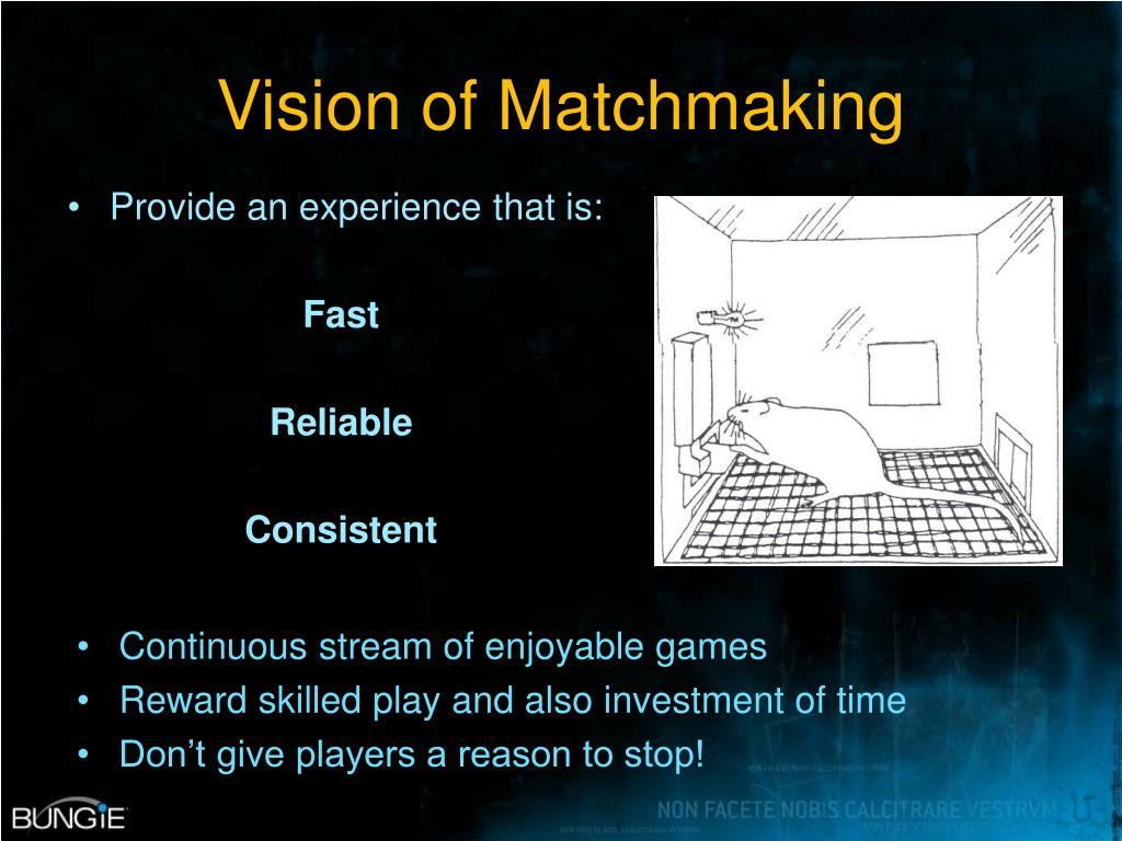 Vision of Matchmaking